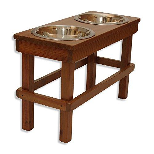 Raised Dog Bowl 17