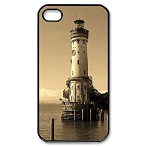 Hard Shell Case Of Lighthouse Customized Bumper Plastic case For Iphone 4/4s