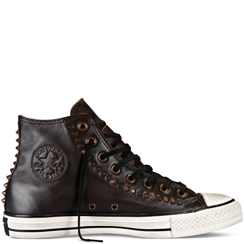 Converse Chuck Taylor All Star Adulte Seasonal Leather HI, Sneaker, Unisex - adulto Marrone