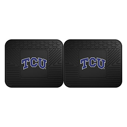FANMATS NCAA Texas Christian University Horned Frogs Vinyl 2-Pack Utility Mats ()