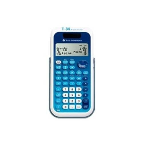 Texas Instruments MultiView TI-34 EZ Spot Teacher Kit - 4 Line(s) - 16 Character(s) - LCD - Solar, Battery Powered 34MV/TKT/1L1/A by Texas Instruments