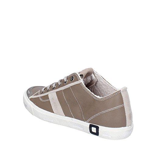 D.A.T.E. DATE Sneakers Homme 42 EU Beige Cuir