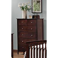 Coaster Home Furnishings 202085 Casual Contemporary Chest, Cappuccino