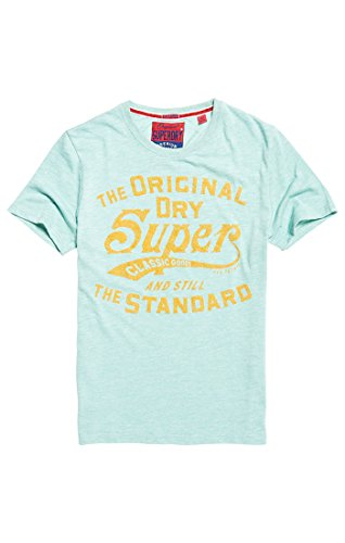 Homme T shirt Haze Vert light Superdry Green Xv3 Classicstandardtee Grindle tPfw5nq