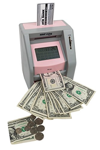 ATM Savings Bank with Touch Screen- Pink