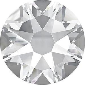 SWAROVSKI Crystal Flat Backs/Rhinestones SS34(7.2mm) CRYSTAL CLEAR HOTFIX Pack of 144 Crystals Wholesale Genuine #2078 Xirius Rose