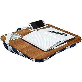 Amazon Com Lapgear Designer Lap Desk Navy Ikat Fits