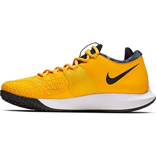 9c0ef4d1b923b Nike Nikecourt Air Zoom Zero Hc Mens Sneakers AA8018-700, University  Gold/Black/White/Volt Glow, Size US 8