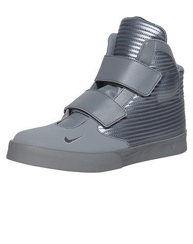 nike FLYSTEPPER 2K3 mens hi top trainers 644576 sneakers shoes (US 12 , cool grey metallic col grey 098)