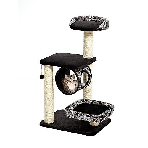 Feline Nuvo Escapade Cat Furniture in - Transitional Three Tier