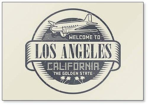 Welcome to California, Los Angeles Fridge Magnet