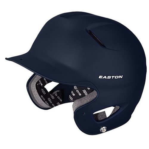 (Easton Natural Grip Senior Batting Helmet, Navy )
