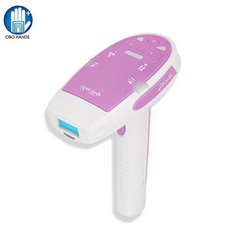 OBO HANDS Women' Shaver Razor Laser Epilator Depilatory Shaver for Women Hair Removal Female Machine Shave for Facial Body Underarm for Bikini (pink)