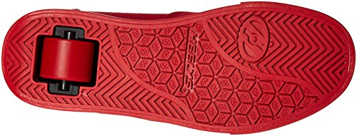HeelysLaunch - Launch Niños, unisex rojo (Red Solid)