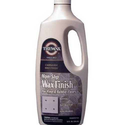 Trewax Gold Label Sealer Wax, Satin (Non-Slip) Finish, 32-Ounce (Wax Slip Floor)