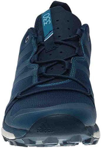 Adidas Outdoor Mannen Terrex Agravic Blauwe Nacht / Mystery Benzine / Witte Sportschoen