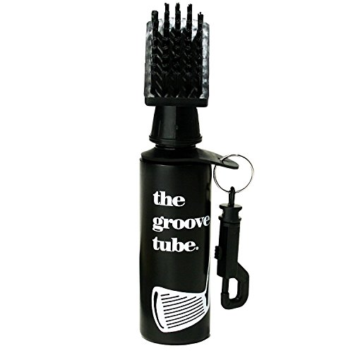 Groove Tube Golf Club Cleaner Squeeze Bottle Brush (Best Way To Clean Golf Clubs)