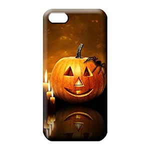 iphone 4 4s phone carrying cover skin Top Quality High trendy halloween pumpkin candles
