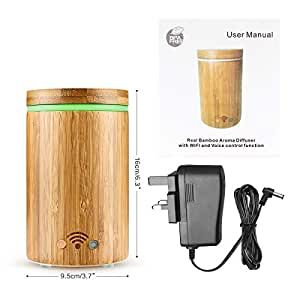 Amazon.com: Konesky Bamboo Wi-Fi Smart Essential Oil