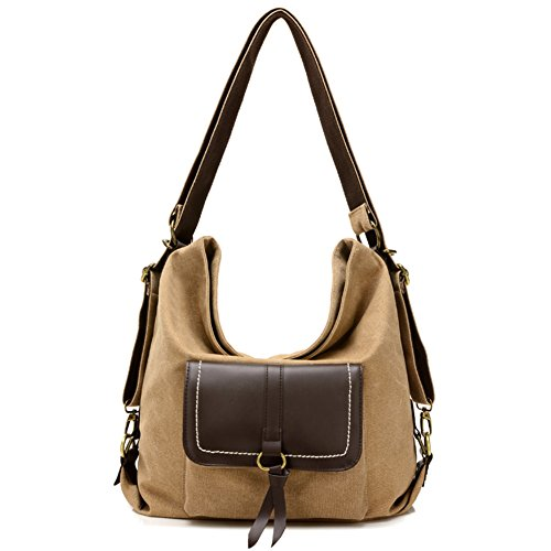 Multifunction For For Shoulder Shoulder Women Handbag Bags Retro Canvas Women Bag Large Bags A qPfaEH