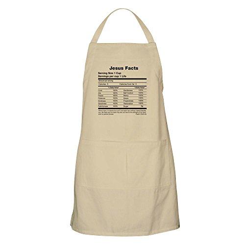 - CafePress Jesus Facts Apron Kitchen Apron with Pockets, Grilling Apron, Baking Apron