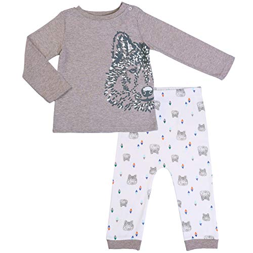 Fashion Tee Shirt and Cotton Pants Set 18m Long-Sleeved Top ()