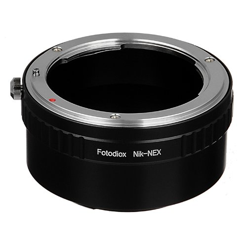 Fotodiox Lens Mount Adapter Compatible with Nikon F-Mount Lenses to Sony E-Mount Cameras