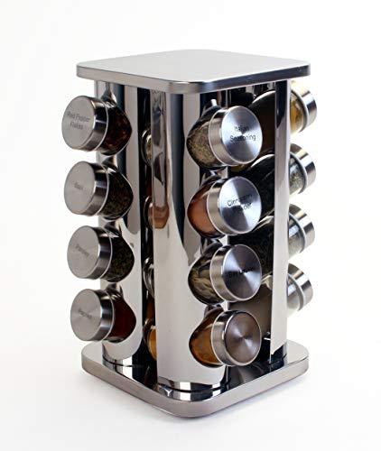 Orii rivetto tarro especiero giratorio, Steel with steel caps, 1