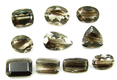 8.35 Ct Natural Scapolite Loose Gemstone Faceted Cut Lot of 10 Pcs Stone - 28063