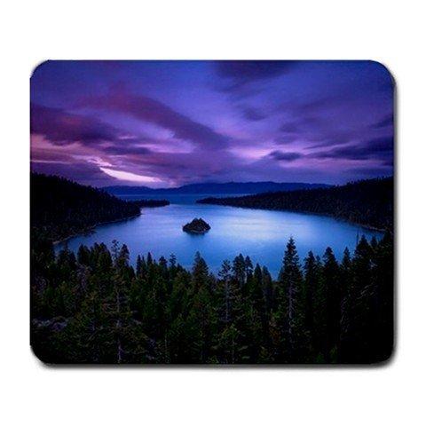 Scenic Purple Sky Lake Island Mouse - Office Post Delivery Estimate