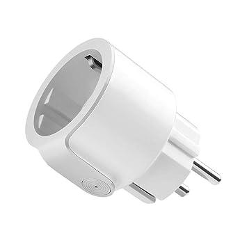 keyuan Enchufe Inteligente WiFi Smart Plug con App Soporte Alexa ...