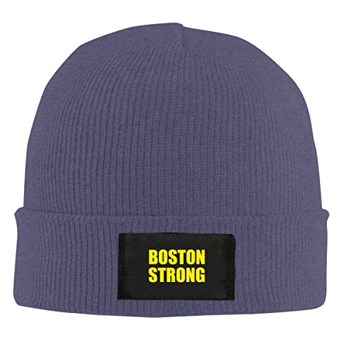 Xdinfong Boston Strong Winter Beanie Hat Knit Hat Cap for Men & Women (Boston Strong Winter Hat)