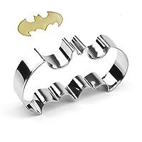 Cortador de galletas Batman GXHUANG - Acero inoxidable, para la fiesta de bodas de cumpleaños de aniversario