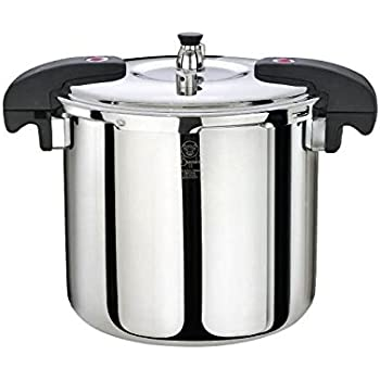 Amazon.com: Magefesa Chef Aluminum, 16-Quarts, Fast Pressure Cooker ...