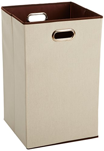 41ltpJWi8jL - AmazonBasics Foldable Laundry Hamper