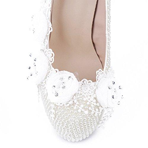 blanc Blanc compensée Minitoo Semelle femme wqOInZ77xS