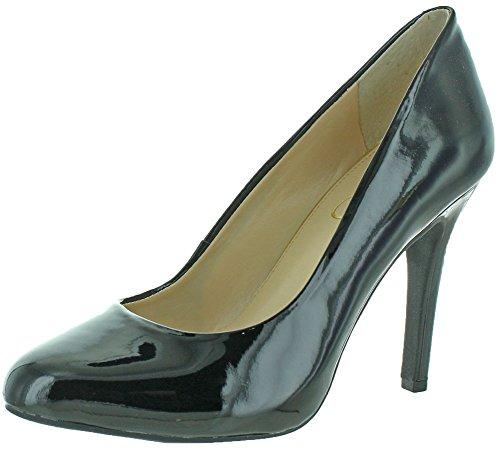 Jessica Simpson Women's Malia Dress Pump,Black Patent,7 M US - Jessica Simpson Slingback Shoes