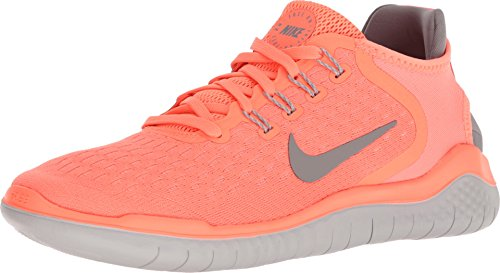 NIKE Womens Free Run 2018 Running Shoes Crimson Pulse/Atmosphere Grey 942837-800 Size 8 by NIKE
