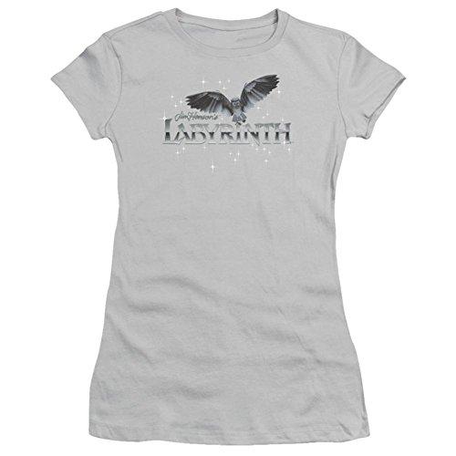 Owl Slim T-shirt (Juniors: Labyrinth-Owl Logo Juniors (Slim) T-Shirt Size XXL)