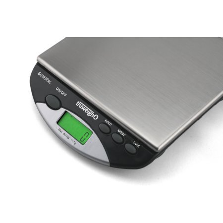 GENERAL Compact Bench Scale 8000g x 1g Black by Truweigh (Image #1)
