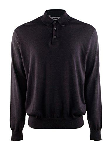Ralph Lauren Long-sleeved Merino Wool Shirt Navy, Meduim