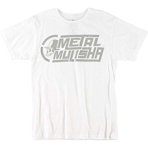 Metal Mulisha Herren T-Shirt - PIECES - weiß