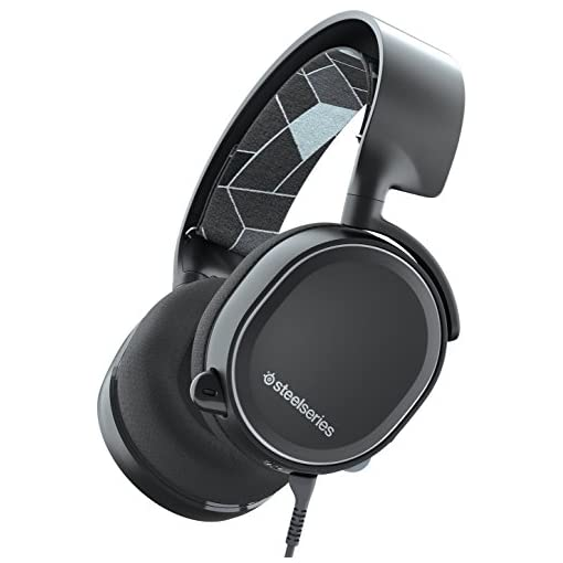 SteelSeries Arctis 3 Console Legacy Edition, Console Gaming Headset, PlayStation 4/Xbox One/Nintendo Switch – Black