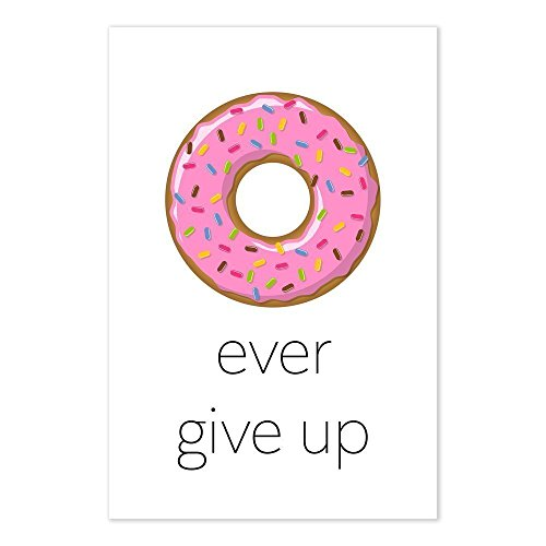 donut ever give pun