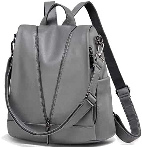 8267248877fa Shopping Faux Leather - Greys - Fashion Backpacks - Handbags ...