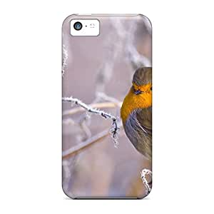 ZOBvR5402OChRf Beautiful Robin In Winter Awesome High Quality Iphone 5c Case Skin