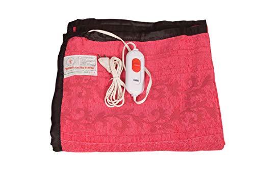 Comfort Cotton Single Bed Electric Blanket (Multicolour)