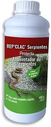 Protecta Rep' Clac Serpientes - Ahuyentador de Serpientes de Uso Exterior - 450 gr.