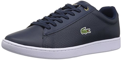 Lacoste Hommes Carnaby Evo Sneakers Tan 470 En Cuir