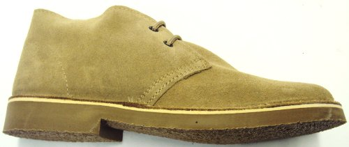 70s retro real suede desert boots in 5 colours (9, biege)